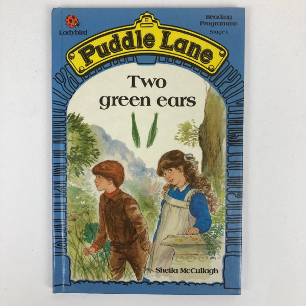 Ladybird Book PUDDLE LANE Two Green Ears - First 1st Edition - Stage 1 No.8
